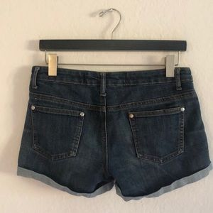 Cotton On Shorts - Dark Blue Denim Shorts